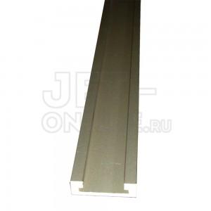 Профиль-шина 30,4 мм, 1,5 м, анод, золото матовое