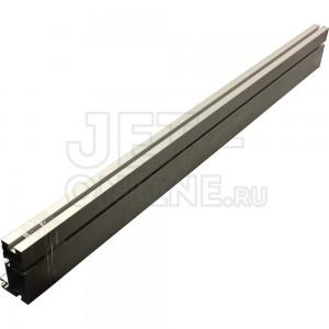 Профиль-шина 100 мм, 1м, алюминий анодированый