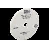 Круг шлифовальный 200x12,7x31,75A35A80I8V84 40m/s (JPSG-0618SD) белый