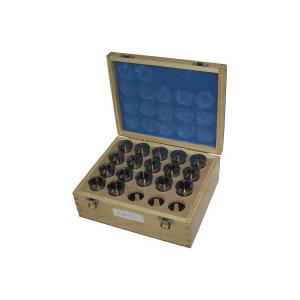 Набор цанговых зажимов SC из 17 деталей с размерами 3-25мм