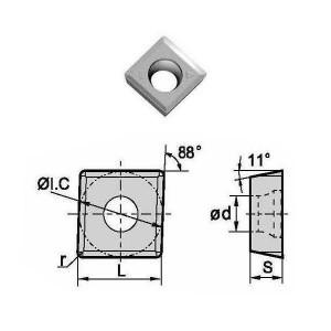 Сменная твердосплавная пластина MPHT120408-DM/YBG302