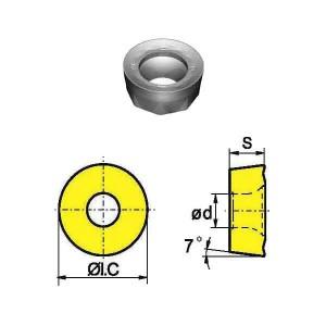 Сменная твердосплавная пластина RCKT1204MO-DM/YBG302
