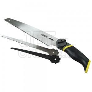 """Ножовка универсальная с 3-мя сменными полотнами """"3 в 1"""" Stanley 0-20-092"""