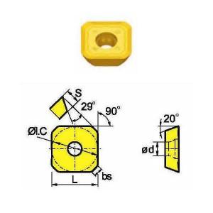 Сменная твердосплавная пластина SEET12T3-FM/SD1025