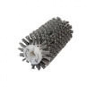 Брашировальная щетка валик Д130х250мм, ворс корд сталь латун. d0,30