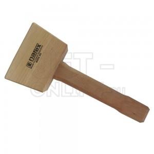 Киянка деревянная 60x75х110мм, 280мм, 450г